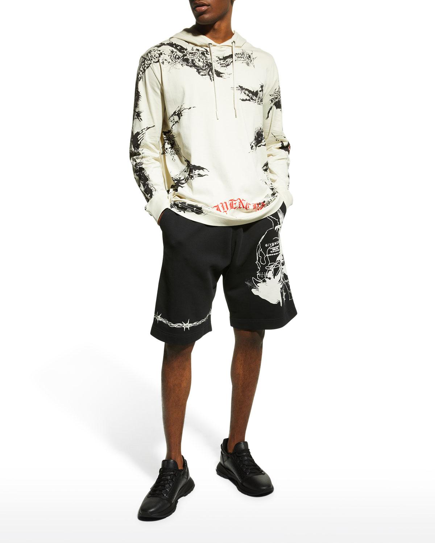 Men's Graphic Sweat Shorts