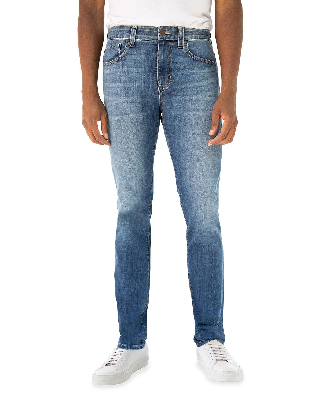 Men's Torino Cruz Slim Light-Wash Jeans