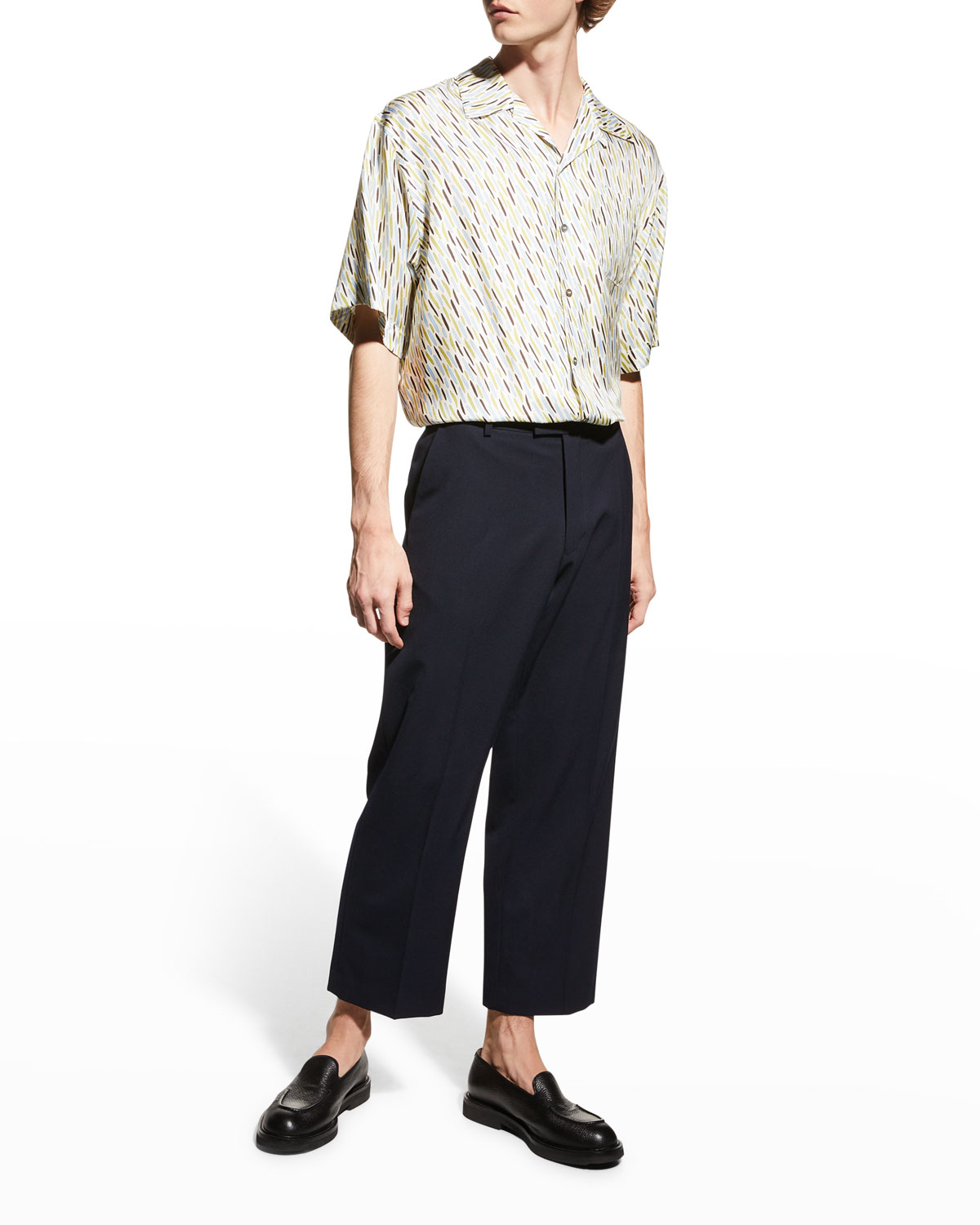 Men's Parch Wool Pants