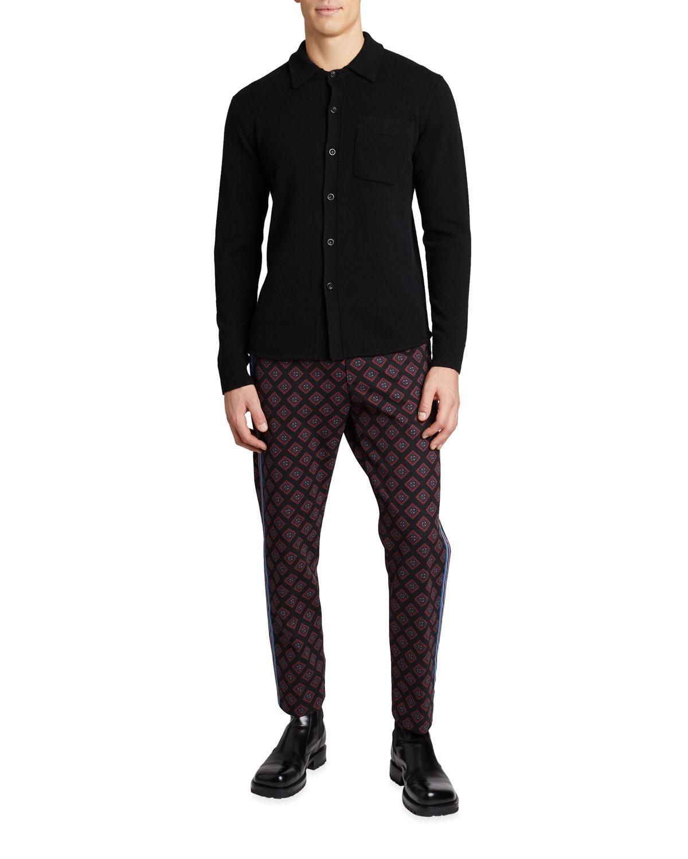 Men's Taylor Wool Knit Shirt