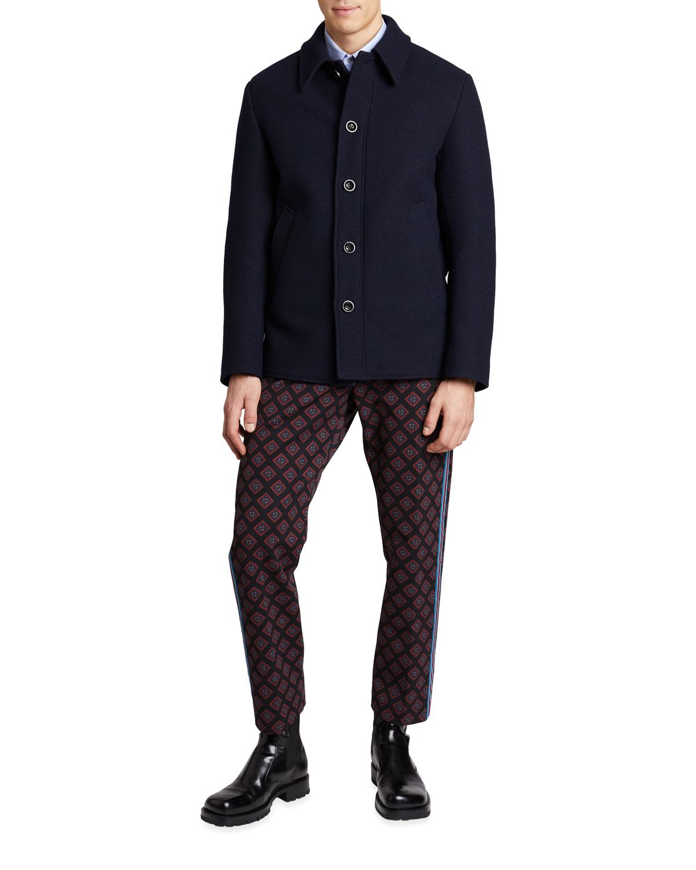 Men's Velston Wool Shirt Jacket