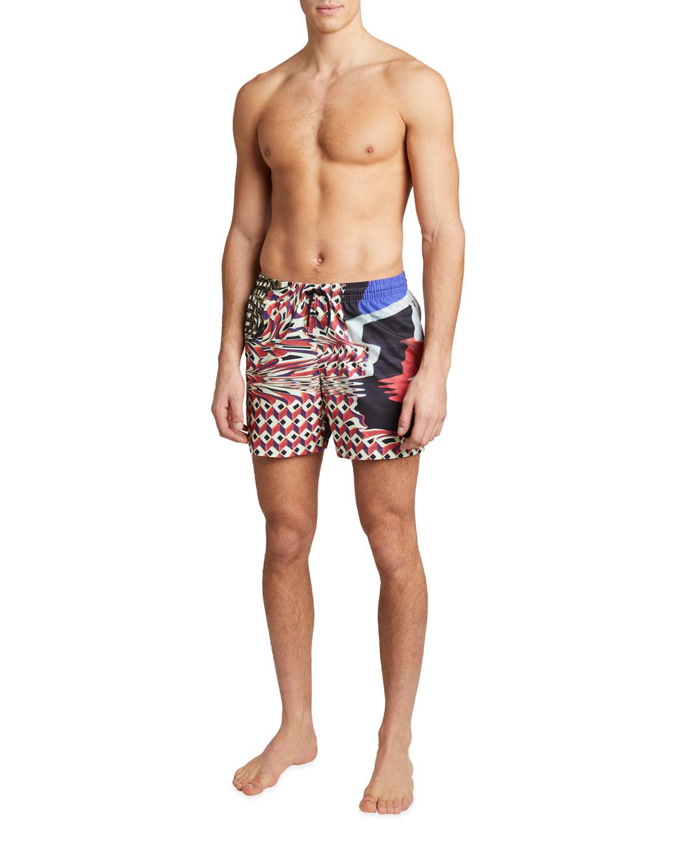 Men's Phibbs Printed Swim Shorts