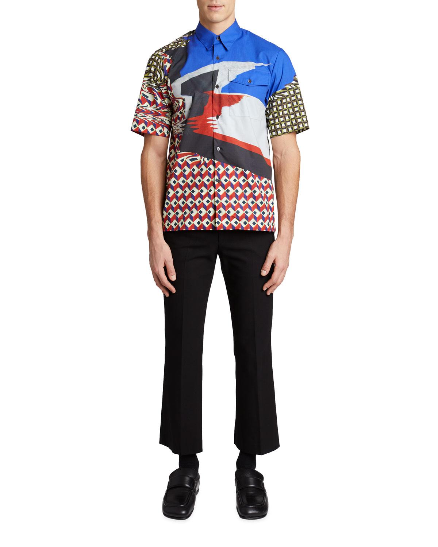 Men's Claseni Short-Sleeve Shirt