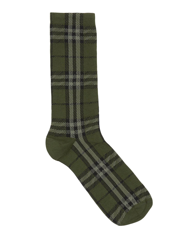 Men's Check Socks