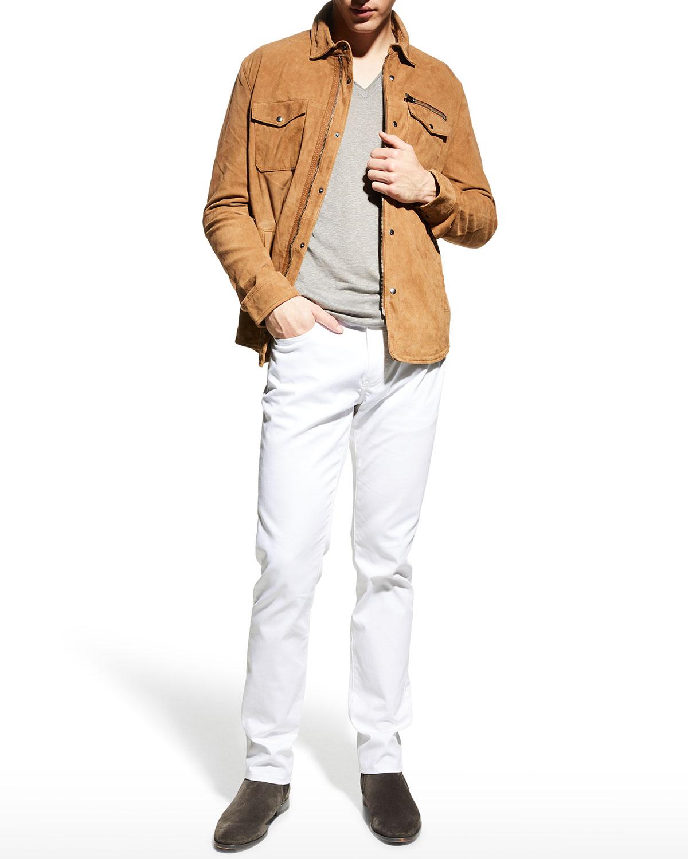 Men's Shilo Light Suede Jacket