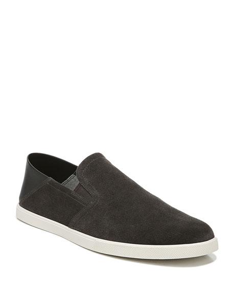 Vince Men's Sanders Suede & Leather Slip-On Sneakers