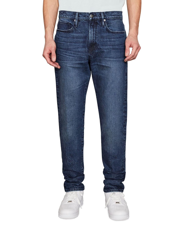 Men's L'Homme Athletic Medium-Wash Jeans