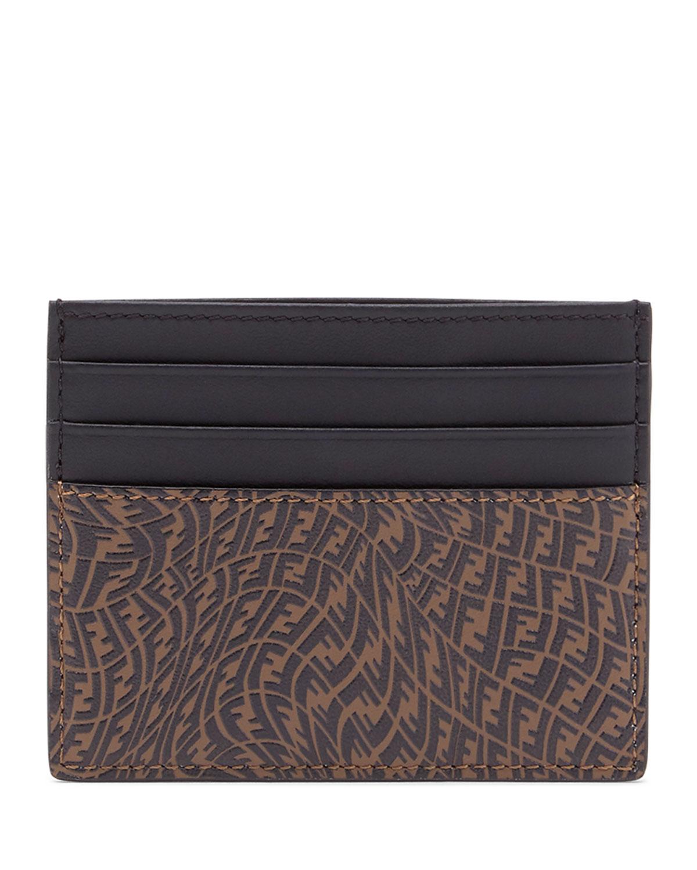 Men's FF Vertigo Leather Card Case