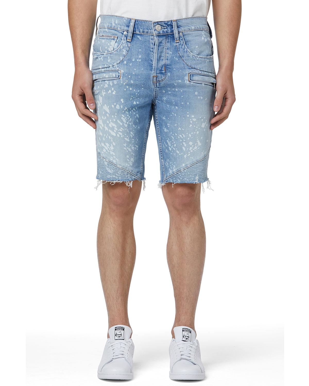 Men's Blinder v.2 Denim Biker Shorts