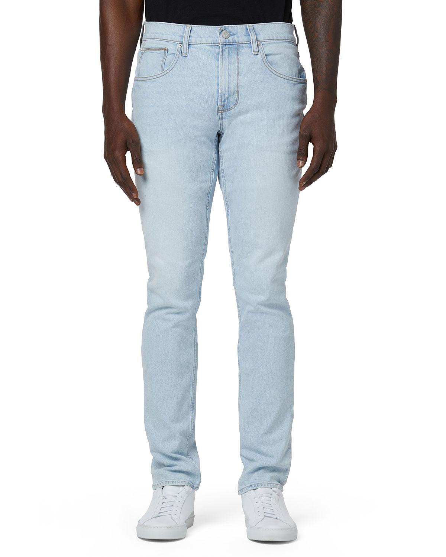 Men's Blake Slim-Straight Light-Wash Jeans