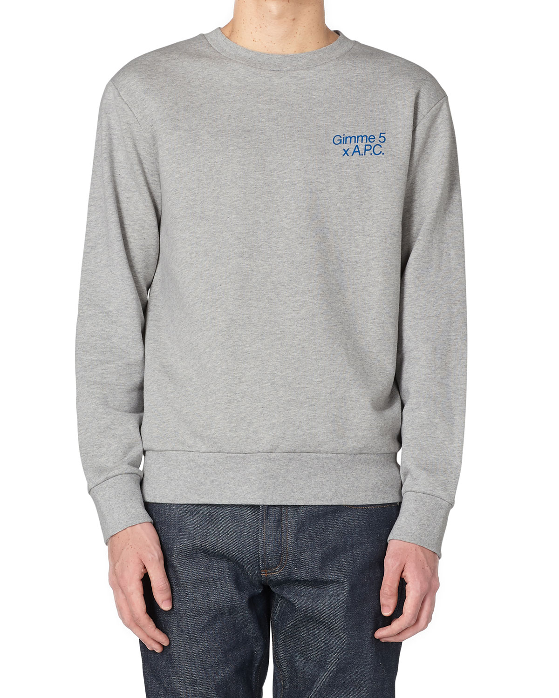 x Gimme Five Men's Graphic Crew Sweatshirt