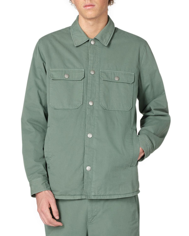 Men's Alex Solid Shirt Jacket