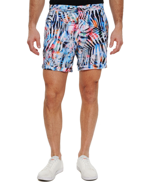 Men's Benrubi Leaf-Print Shorts