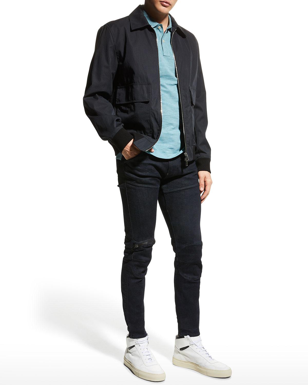 Men's 5620 3D Zip-Knee Skinny Jeans