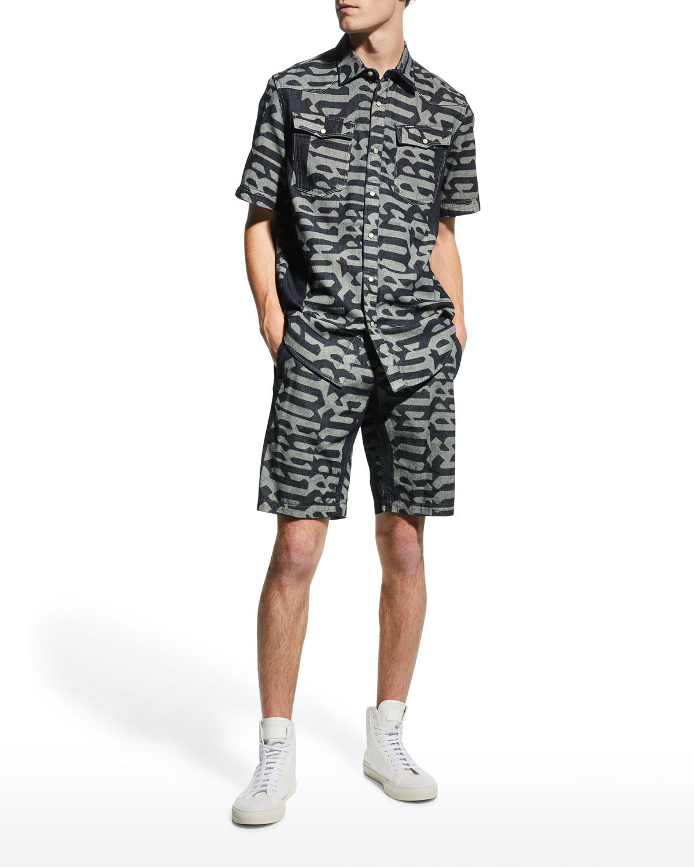 Men's Vetar Printed Chino Shorts