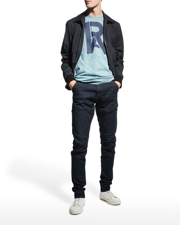Men's Graphic RAW Crew T-Shirt