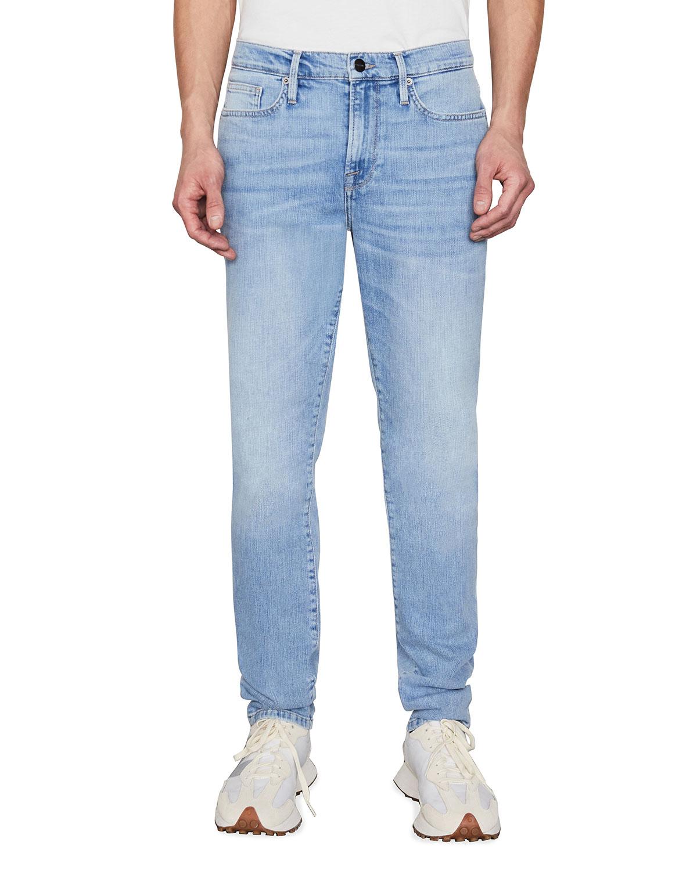 Men's L'Homme Skinny-Fit Denim Jeans
