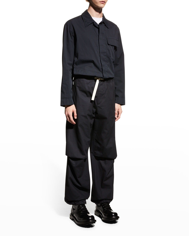 Men's D-Ring Belted Cargo Pants