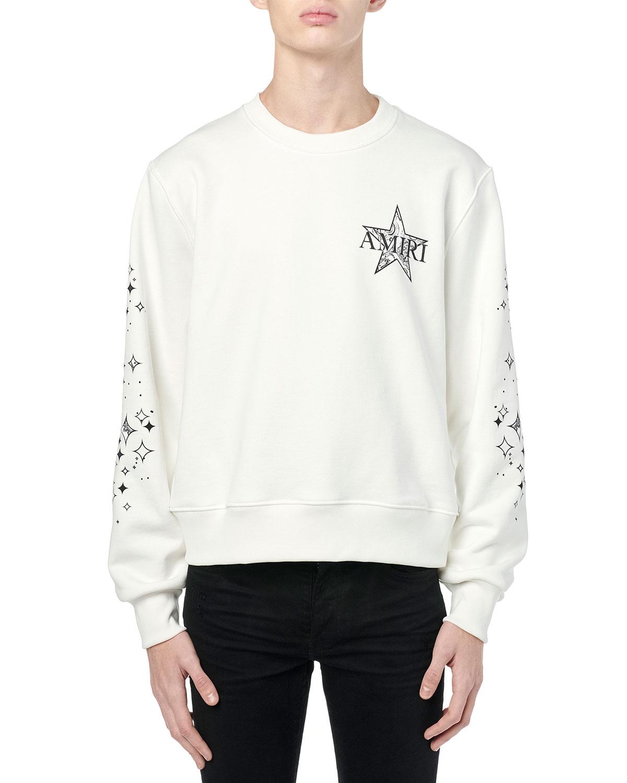 Men's Star Logo Crew Sweatshirt