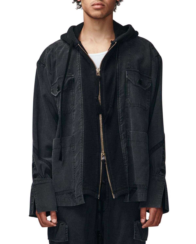 Men's Baker Full-Zip Hooded Jacket