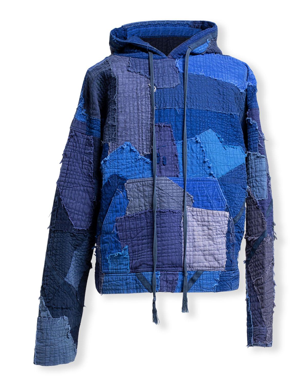 Men's Artist Stitchwork Pullover Hoodie