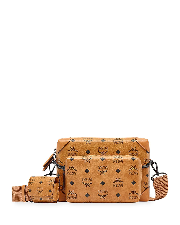 Men's Soft Berlin Visetos Crossbody Bag