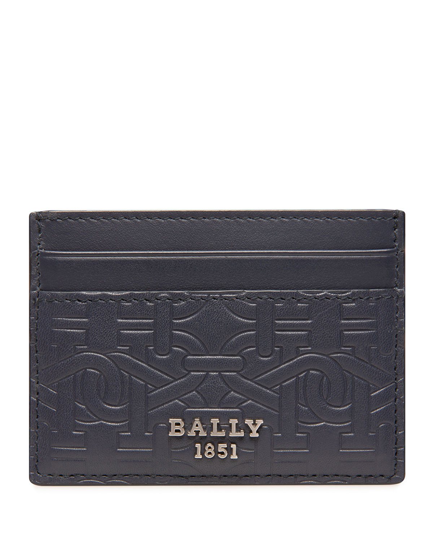 Men's B-Chain Calfskin Card Case