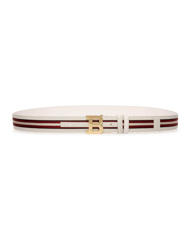 Men's Trainspotting Reversible Leather Belt