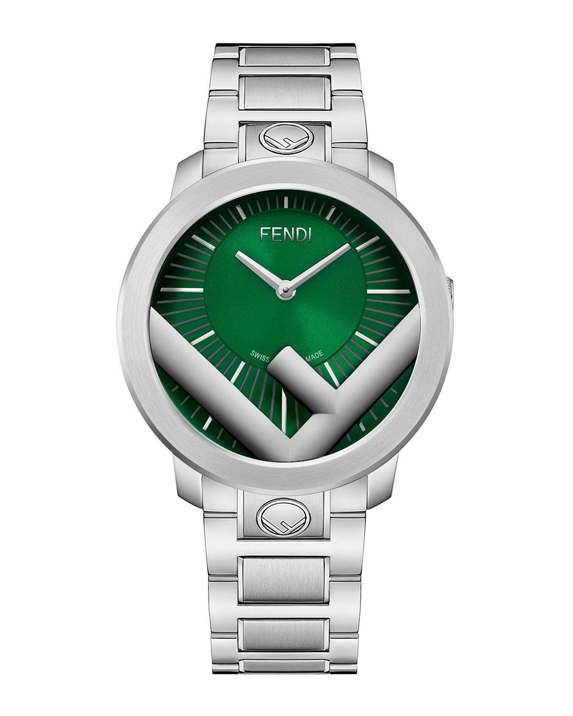 Men's 41mm Run Away Logo Bracelet Watch