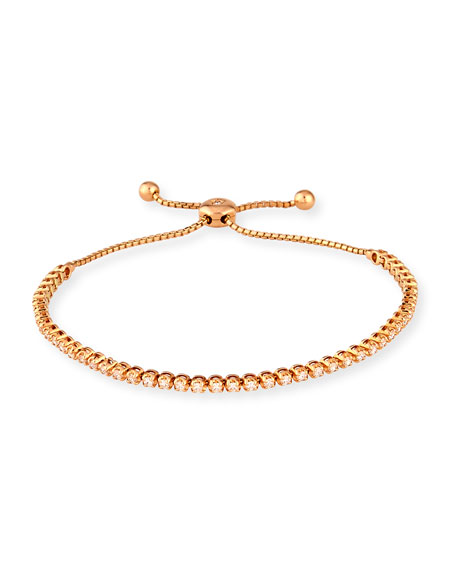 Cassidy Diamonds 18K Rose Gold Illusion-Set Diamond Bracelet