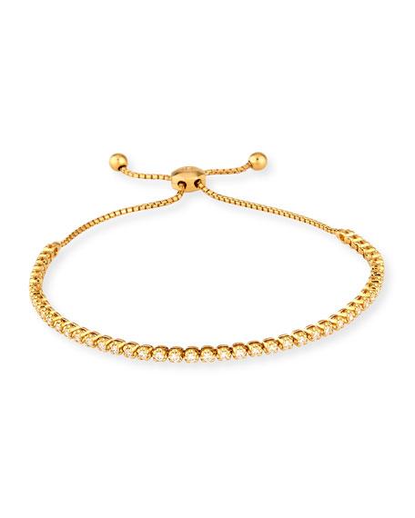 Cassidy Diamonds 18K Yellow Gold Illusion-Set Diamond Bracelet