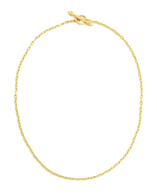 19k Fine Gold Link Necklace