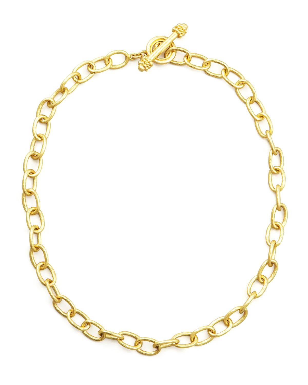 Volterra 19k Gold Link Necklace