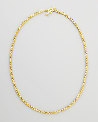 Venezia 19k Gold Rolo Necklace, 31