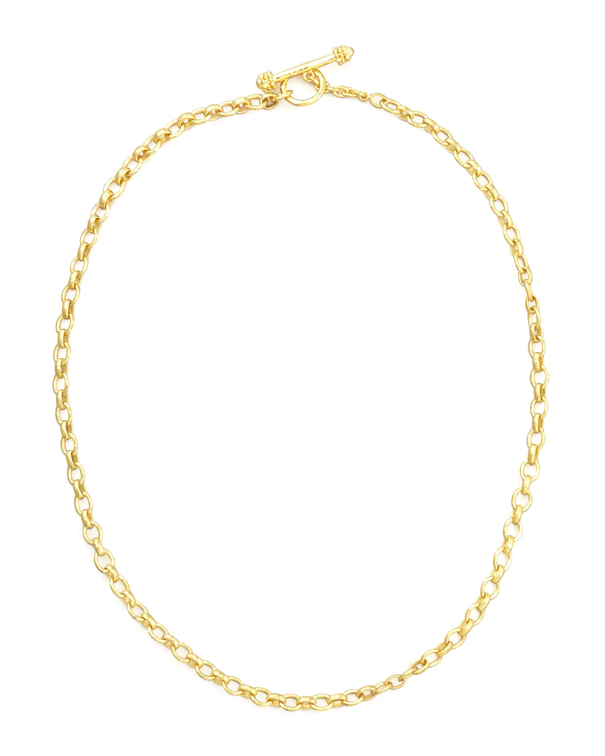 Cortina 19k Gold Link Necklace