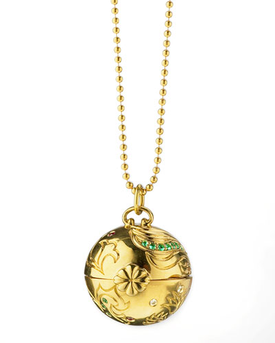 Venus Inner Beauty 18k Gold Charm Necklace