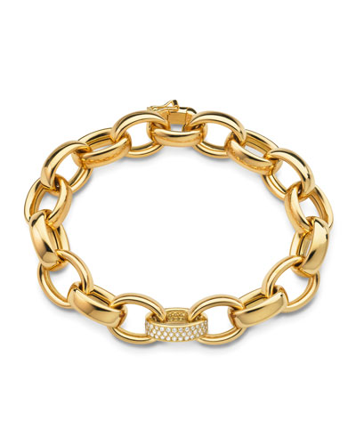 Marilyn Extra Large Ultra Pave Diamond 18k Bracelet