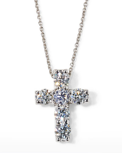 ct mv cut diamond necklace kay kaystore en pd round cross chains sterling tw silver
