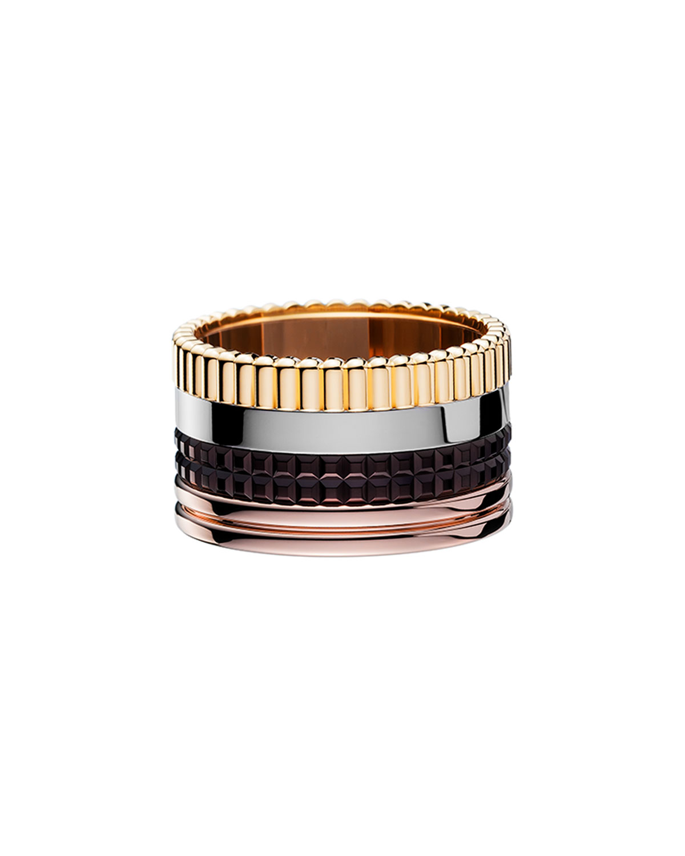 Classic Quatre 18k Gold Large Band Ring
