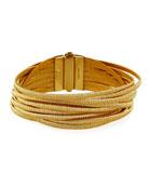 Cairo 18k Thirteen-Strand Bracelet