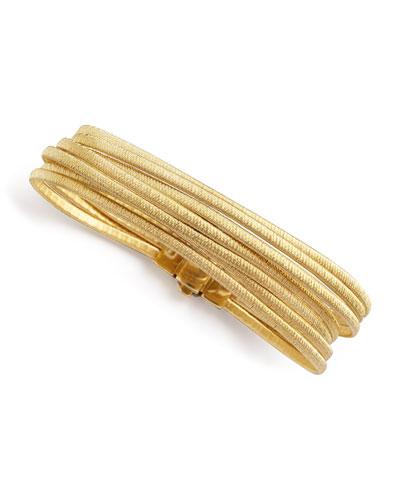Cairo 18k Seven-Strand Bracelet