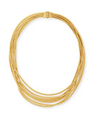 Cairo 18k Seven-Strand Necklace