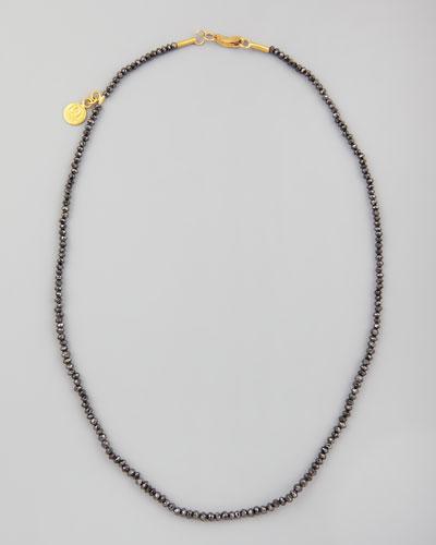 Dark Mist Black Diamond Necklace, 15
