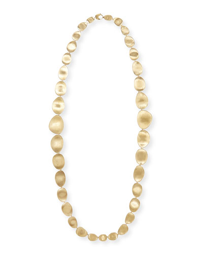 Lunaria 18k Gold Necklace, 36