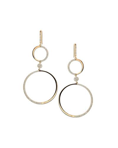 14k Femme Fatale Earrings with Diamonds