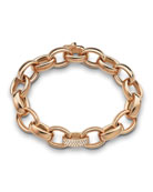 18k Rose Gold Marilyn Link Bracelet