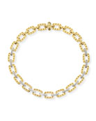 "18k Yellow Gold Pois Moi Necklace with Diamonds, 16""L"