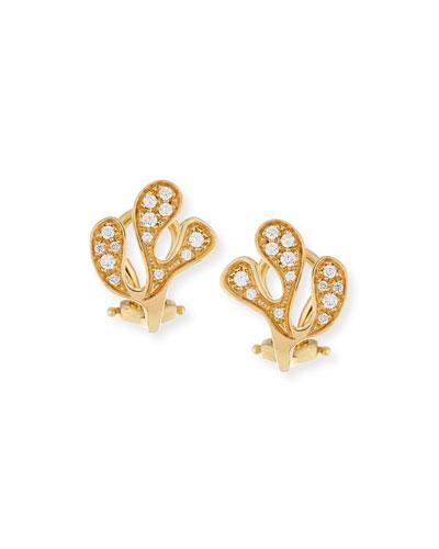 Sealeaf Collection 18k Gold Necklace