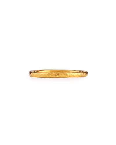 24k Gold Skittle Stacking Ring
