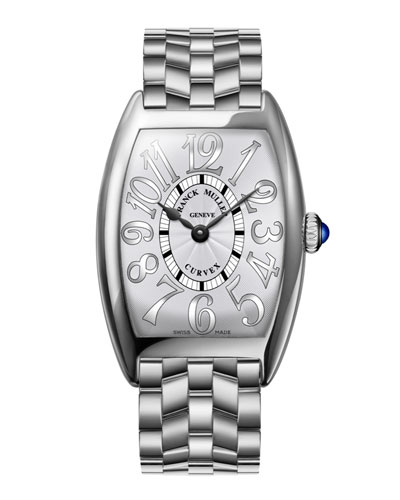 Ladies Curvex Stainless Steel Watch